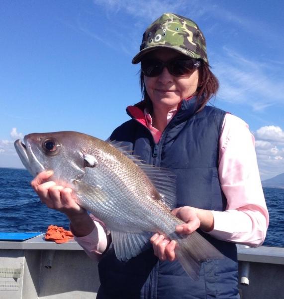 The Rocks Fishing Charters SEA SCOUT II SOUTH WEST ROCKS women welcome.jpg
